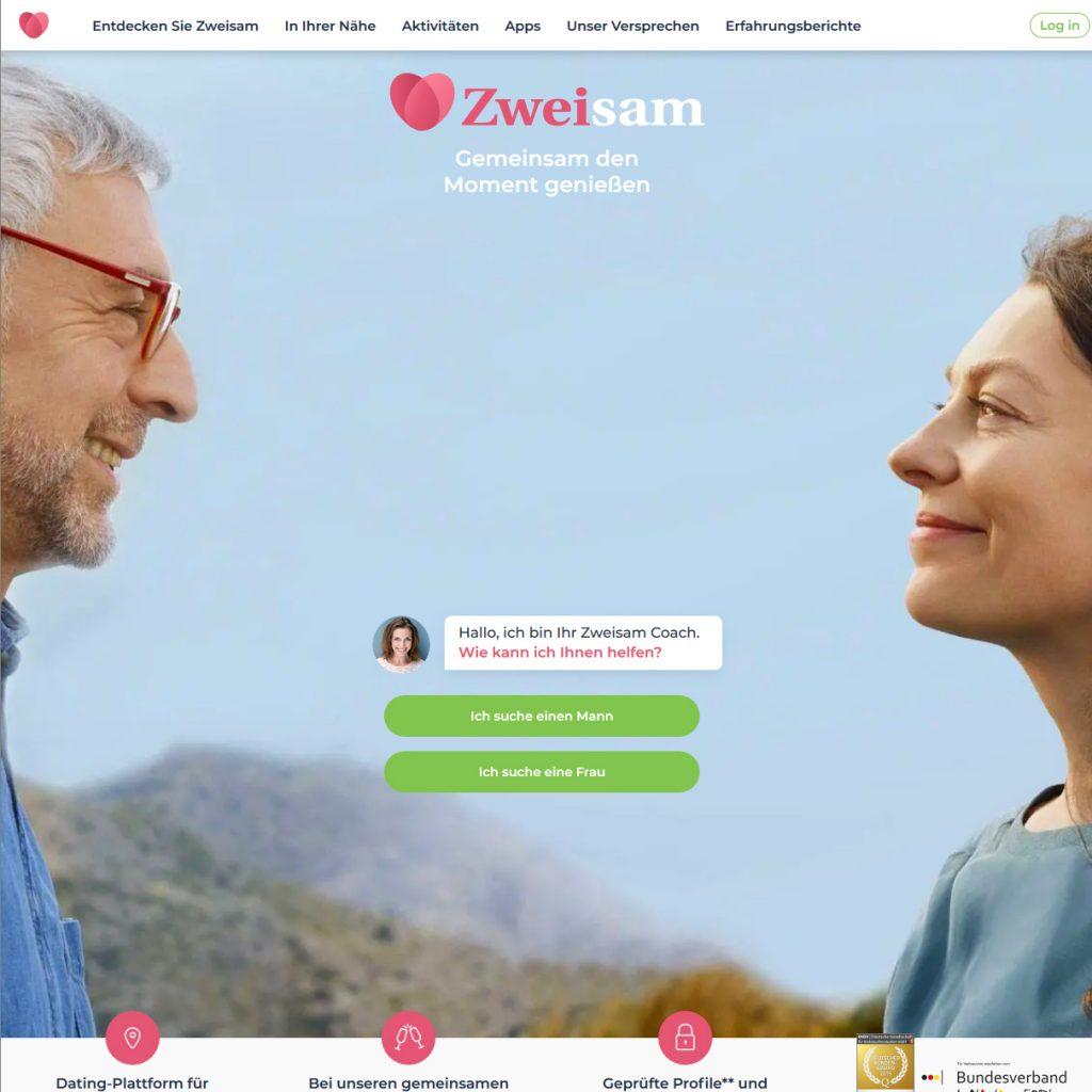 Datingseite für Ältere Zweisam.de