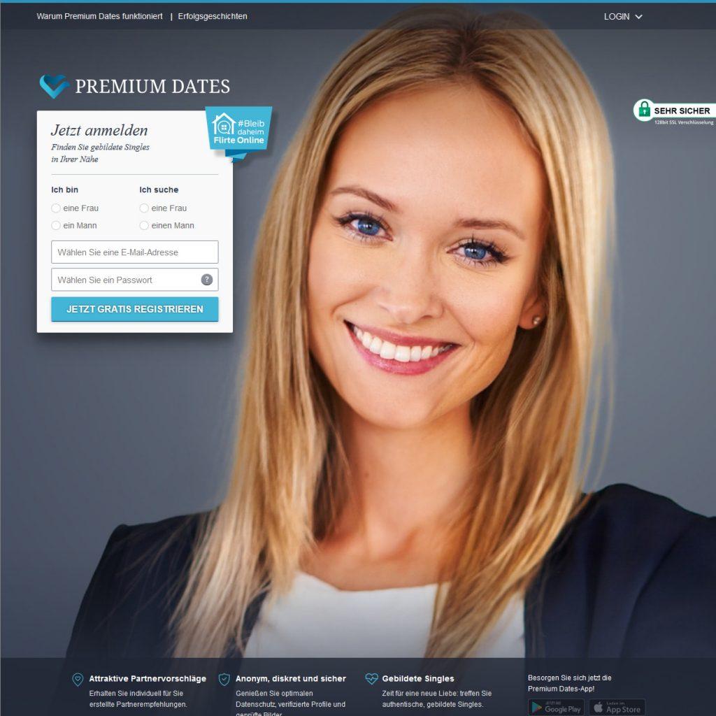 Partnervermittlung Premium Dates