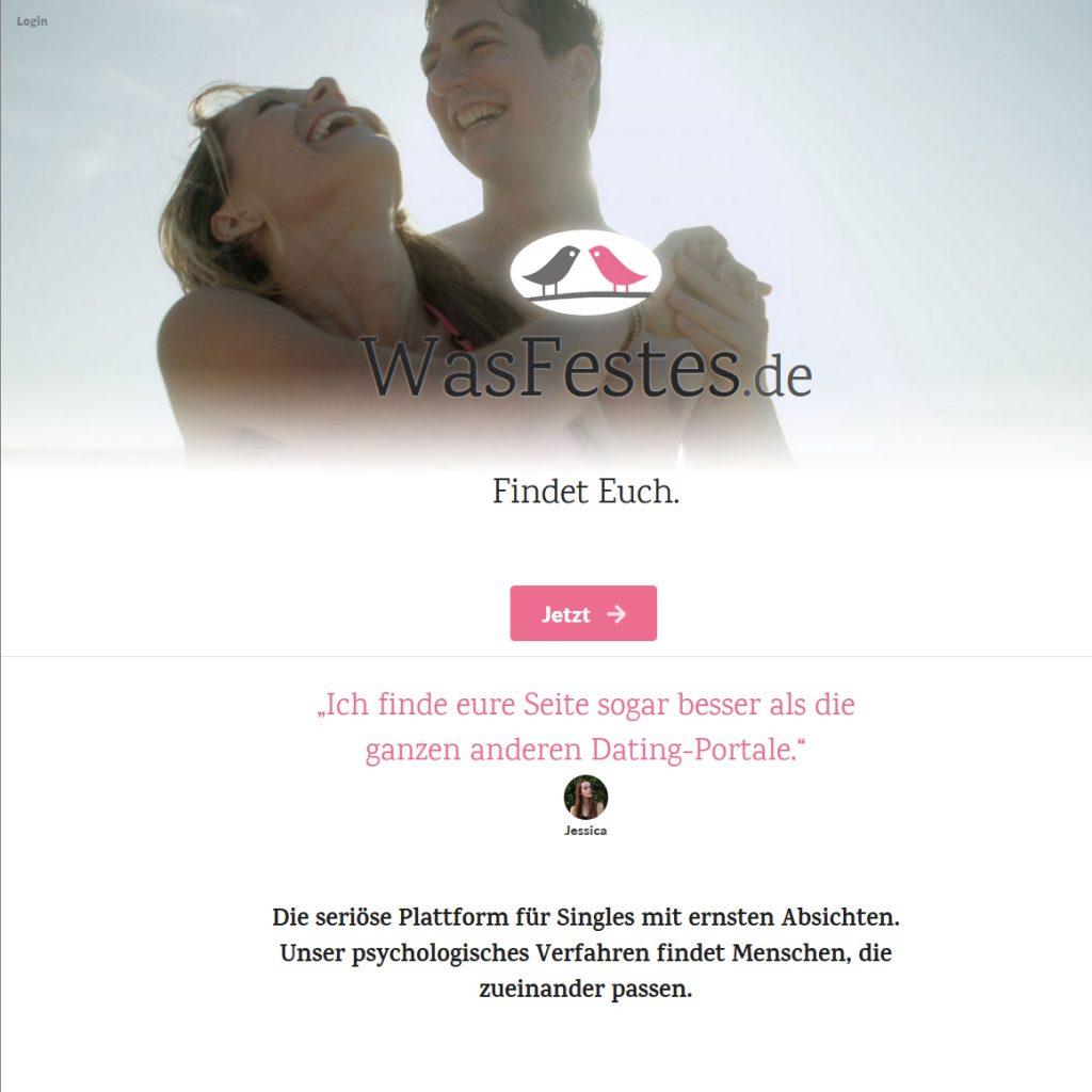 Partnervermittlung WasFestes.de