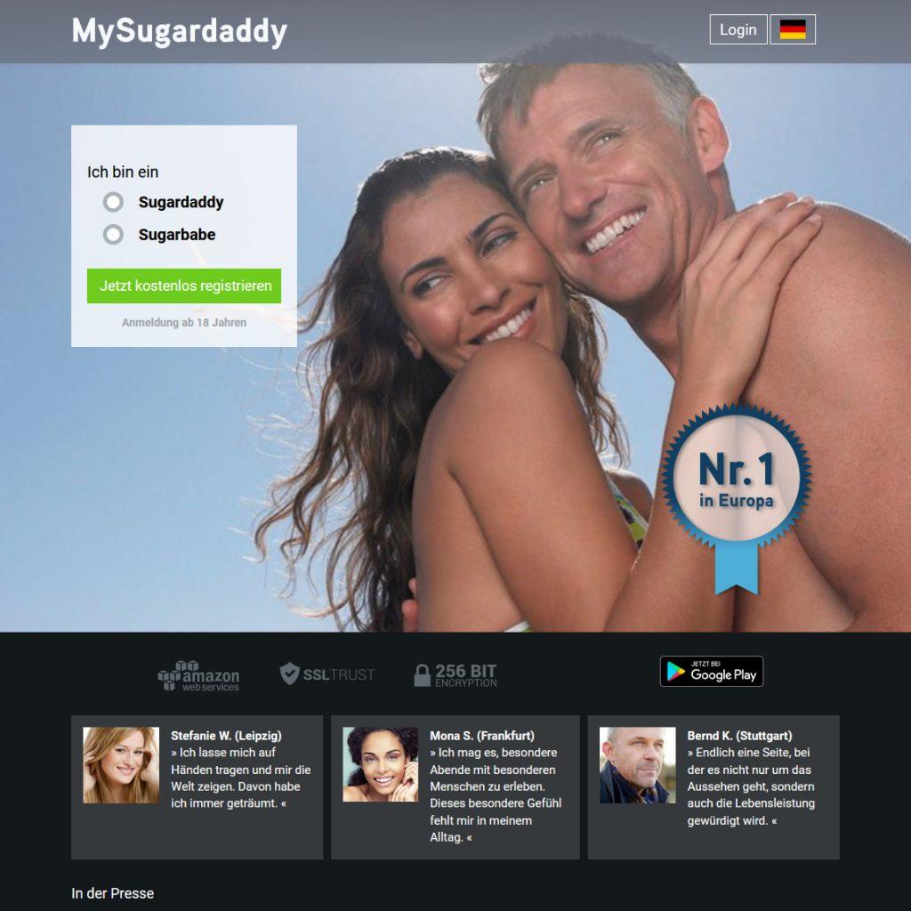 Sexkontakte mit Altersunterschied bei MySugardaddy