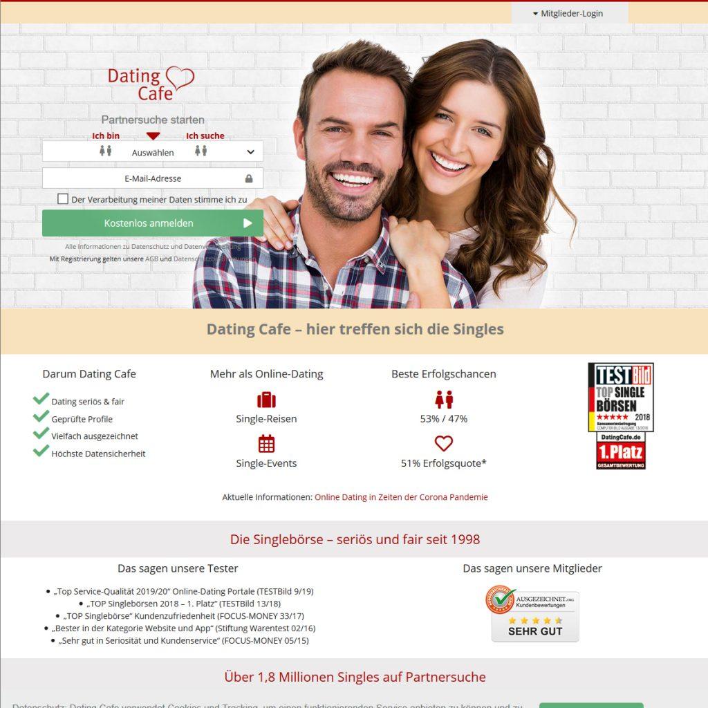 Singlebörse DatingCafe